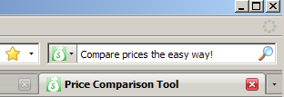 Find the best price when you add Price Comparison Tool to your browser
